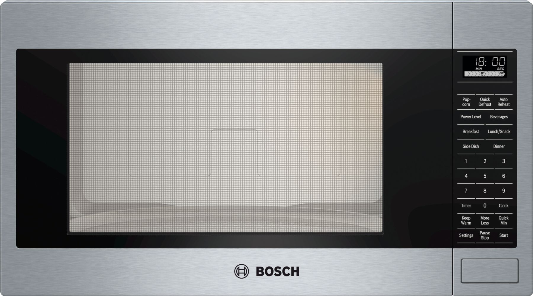 "Bosch 500 Series24"" Built-In Microwave Oven, HMB5051, Stainless Steel"