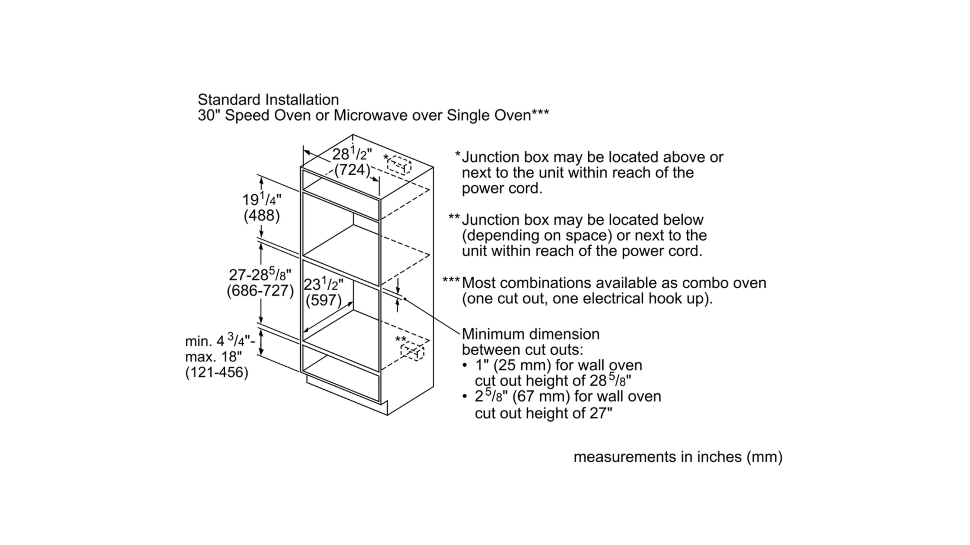 "Model: HMC80152UC | Bosch 800 Series30"" Speed Oven, HMC80152UC, Stainless Steel"