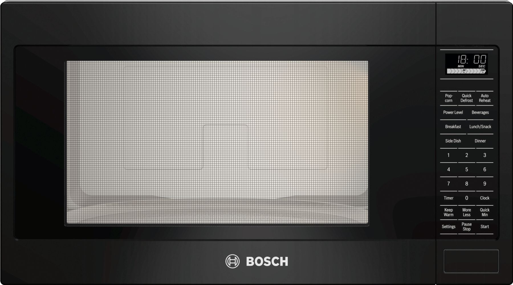 "Bosch 500 Series24"" Built-In Microwave Oven, HMB5061, Black"