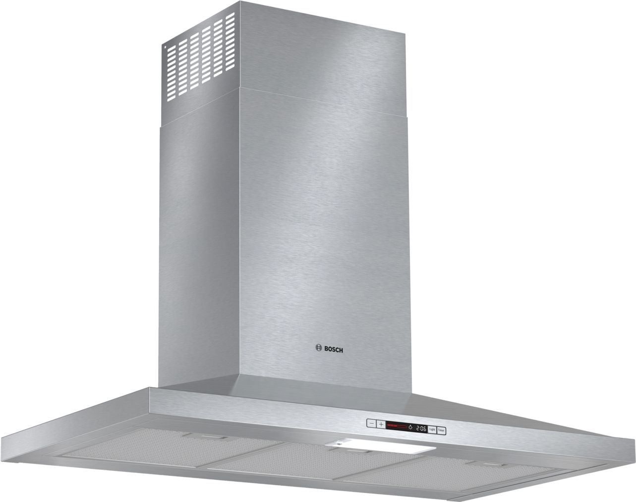 "Bosch 300 Series36"" Pyramid Canopy Chimney Hood, 300 CFM, ENERGY STAR®, HCP36E51UC, Stainless Steel"
