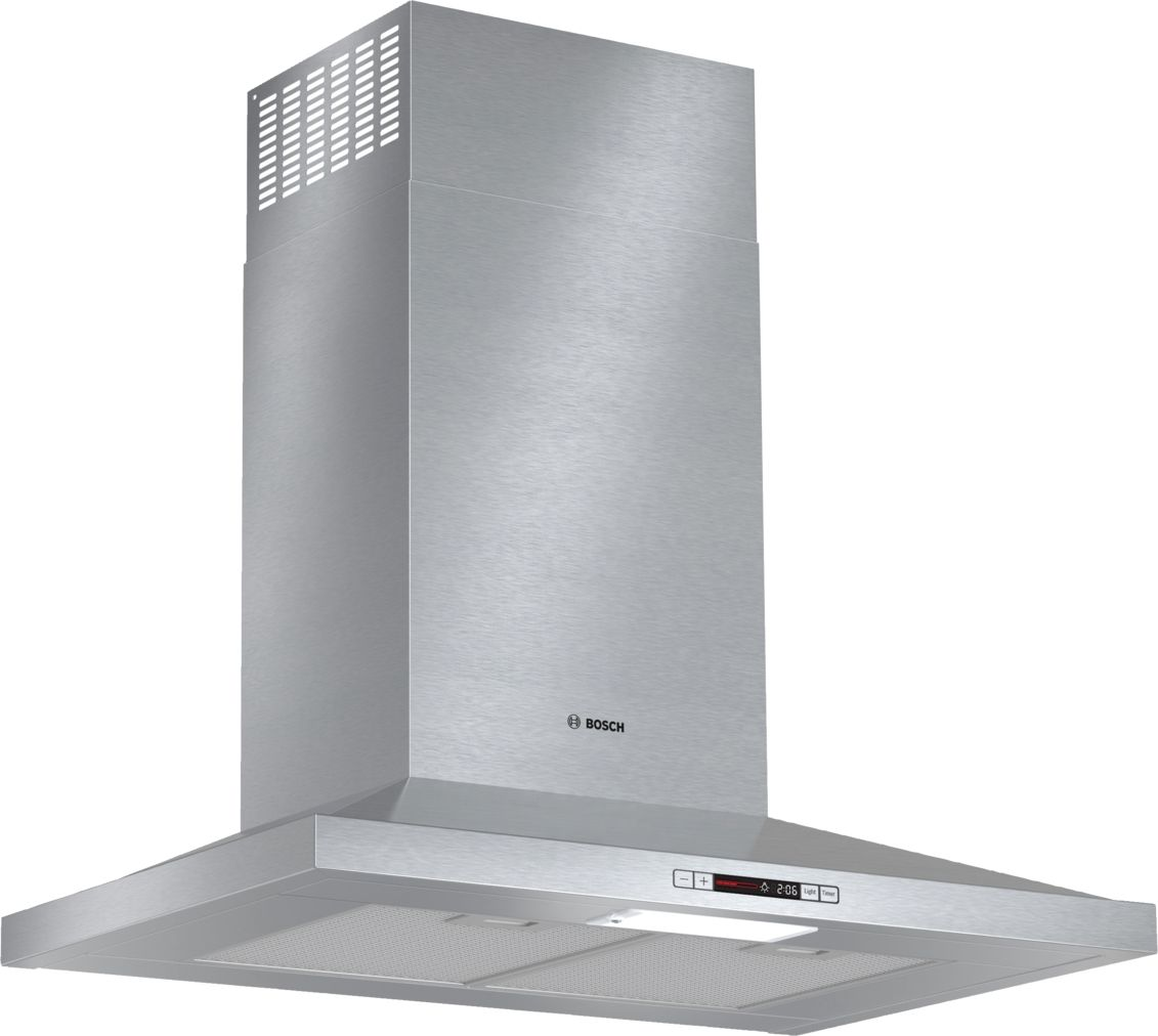 "Bosch 300 Series30"" Pyramid Canopy Chimney Hood, 300 CFM, ENERGY STAR®, HCP30E51UC, Stainless Steel"