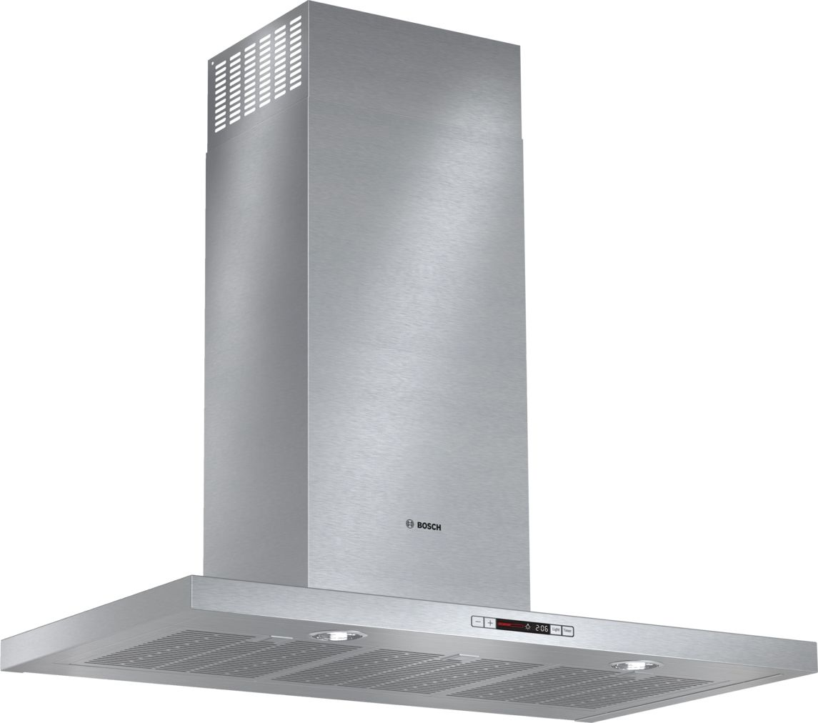"Bosch 500 Series36"" Box Canopy Chimney Hood, 600 CFM, HCB56651UC, Stainless Steel"