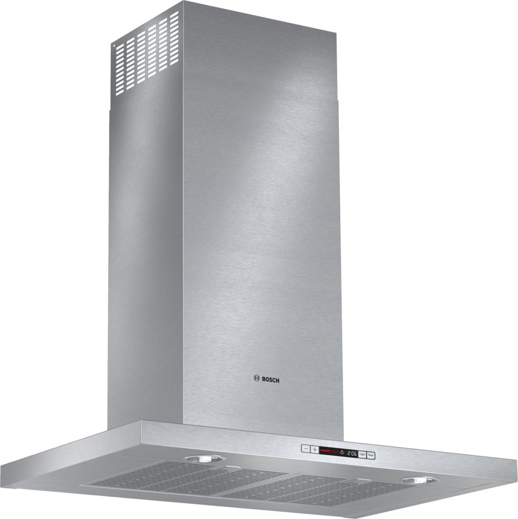 "Bosch 500 Series30"" Box Canopy Chimney Hood, 600 CFM, HCB50651UC, Stainless Steel"