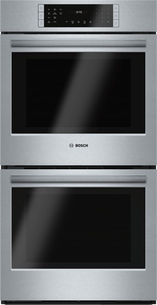 "Bosch 27"" Double Wall Oven, HBN8651UC, Stainless Steel"