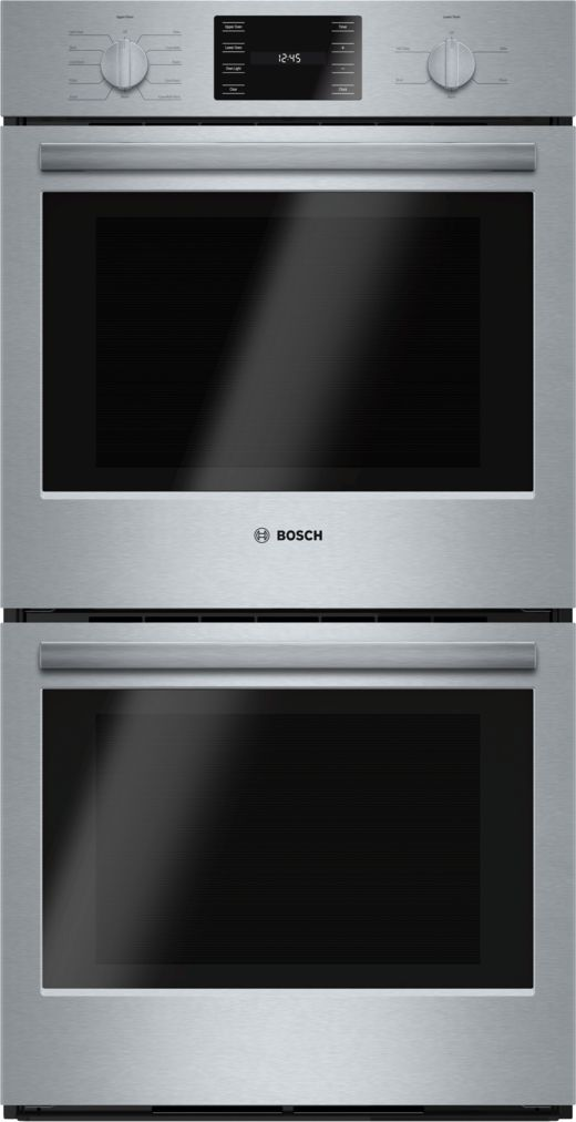"Model: HBN5651UC | Bosch 27"" Double Wall Oven, HBN5651UC, Stainless Steel"