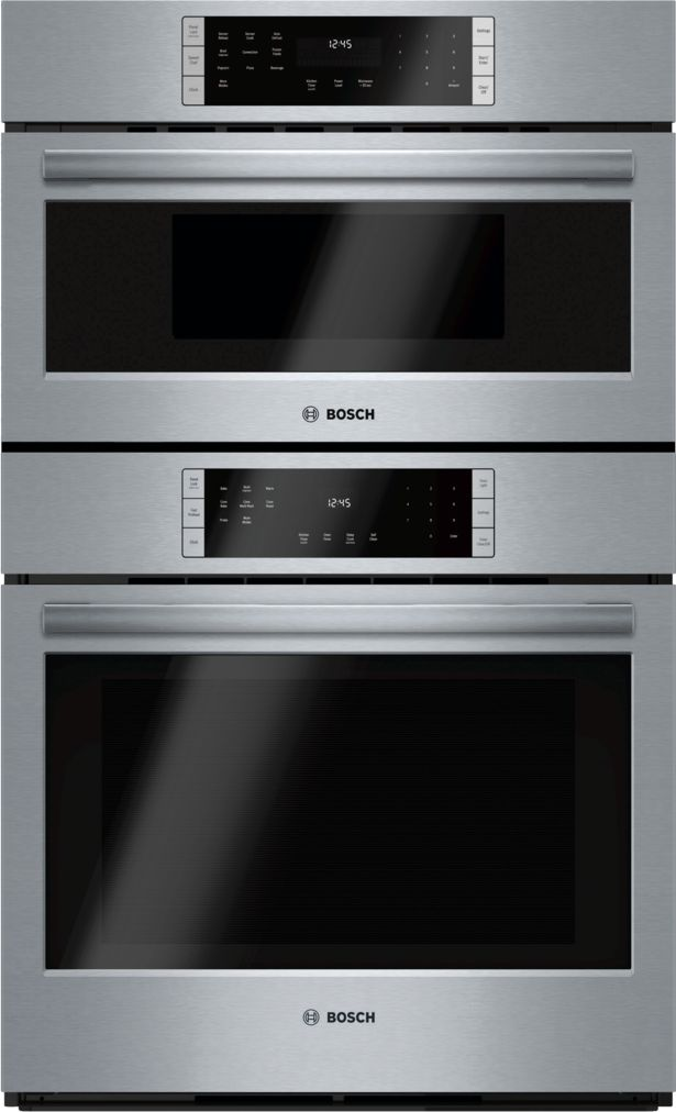 "Model: HBL87M52UC | Bosch 30"" Microwave Combination Oven, HBL87M52UC, Stainless Steel"