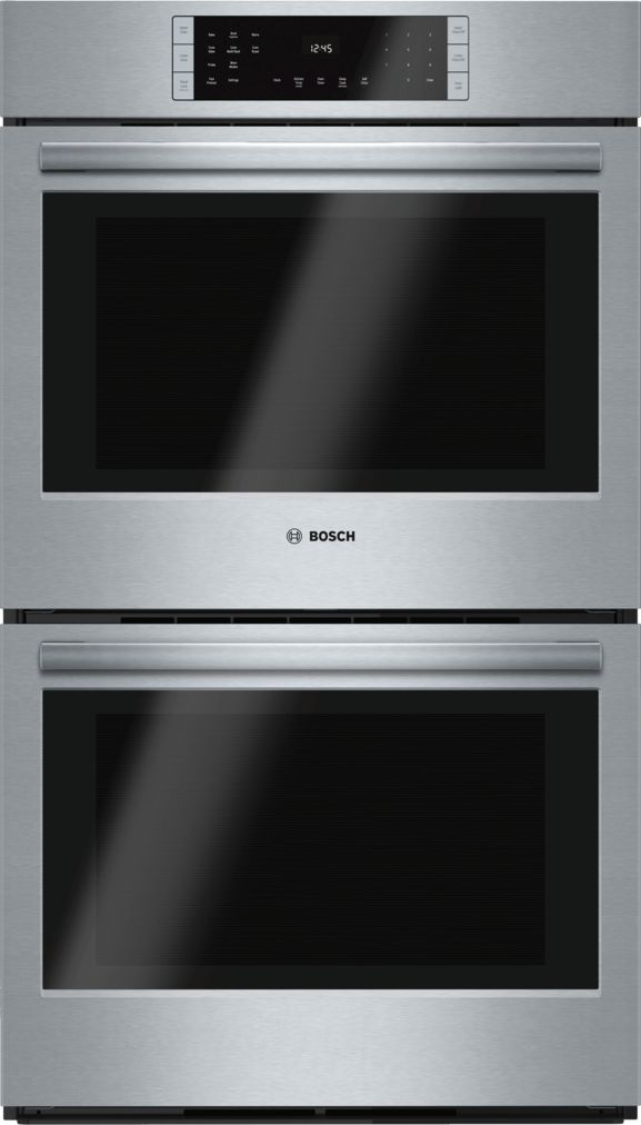 "Bosch 30"" Double Wall Oven, HBL8651UC, Stainless Steel"