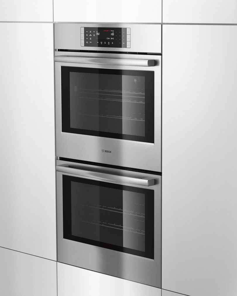 "Model: HBL8651UC | Bosch 30"" Double Wall Oven, HBL8651UC, Stainless Steel"