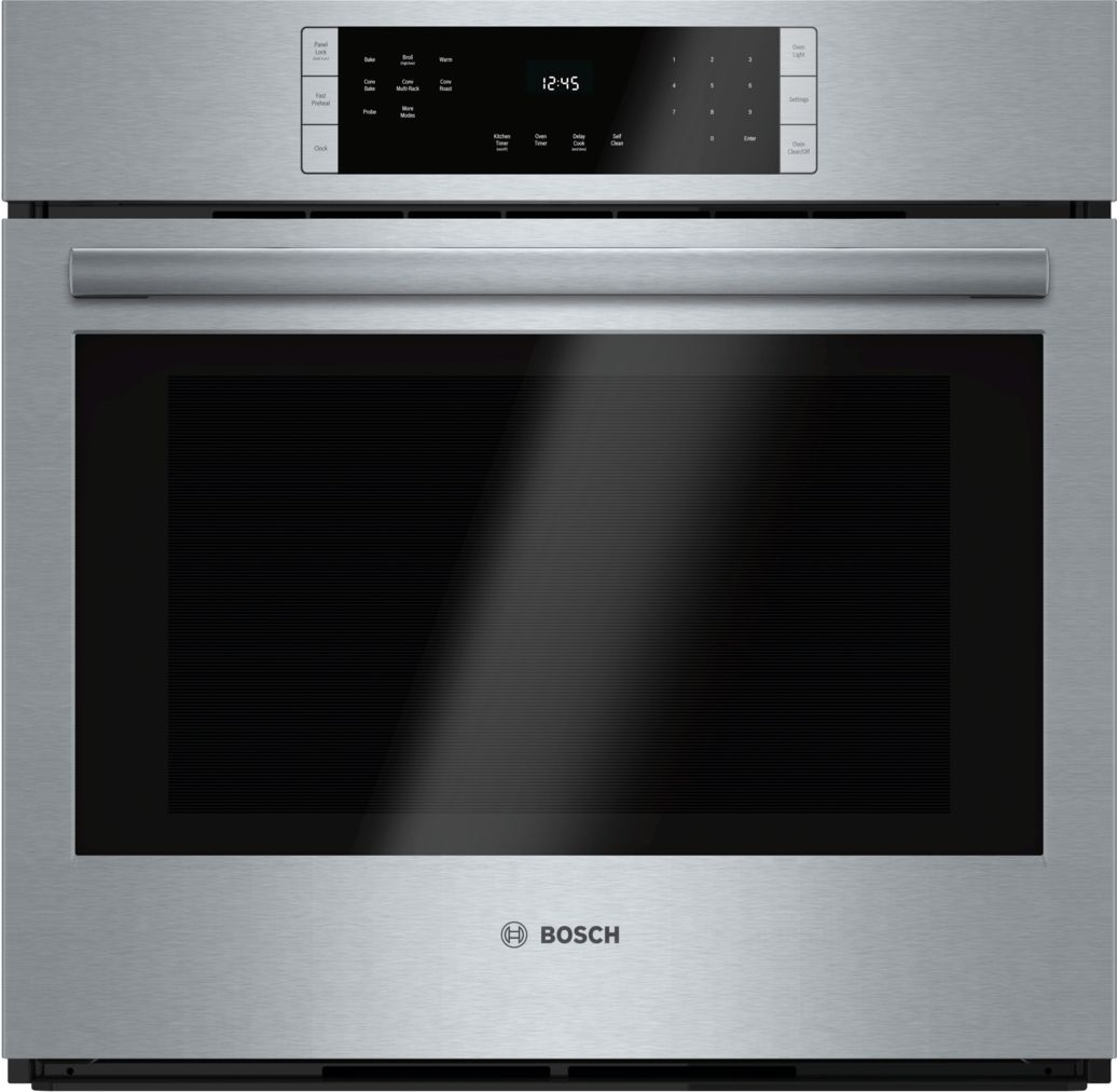 "Bosch 800 Series30"" Single Wall Oven, HBL8451UC, Stainless Steel"