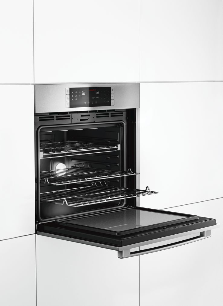 "Model: HBL8451UC | Bosch 800 Series30"" Single Wall Oven, HBL8451UC, Stainless Steel"
