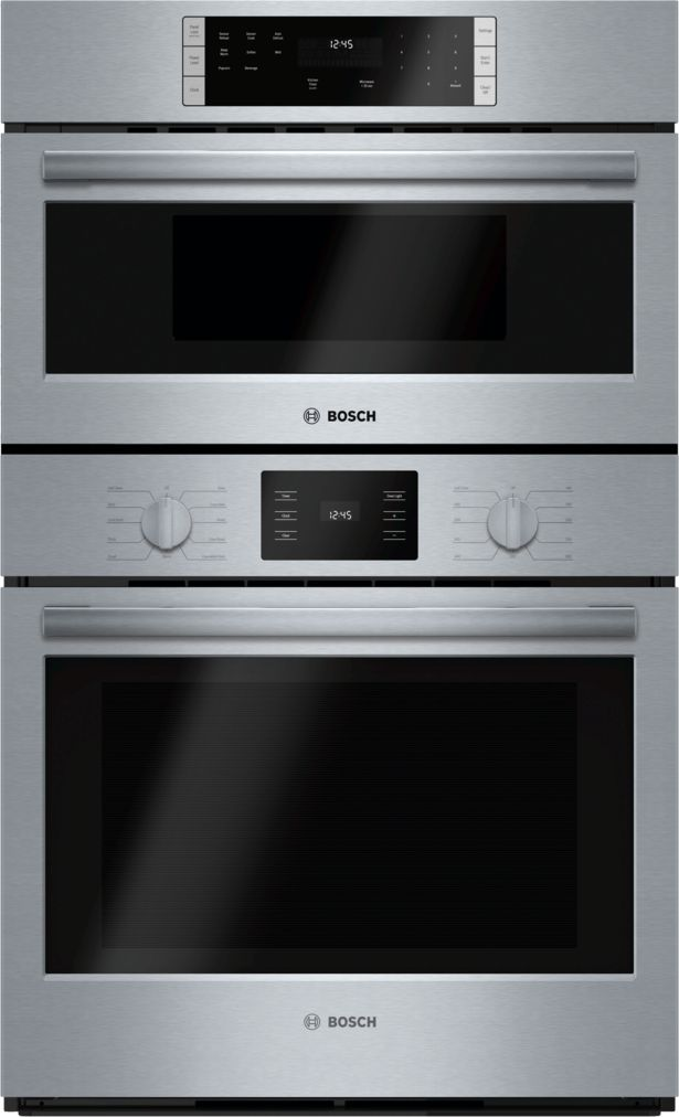 "Bosch 30"" Microwave Combination Oven, HBL57M52UC, Stainless Steel"