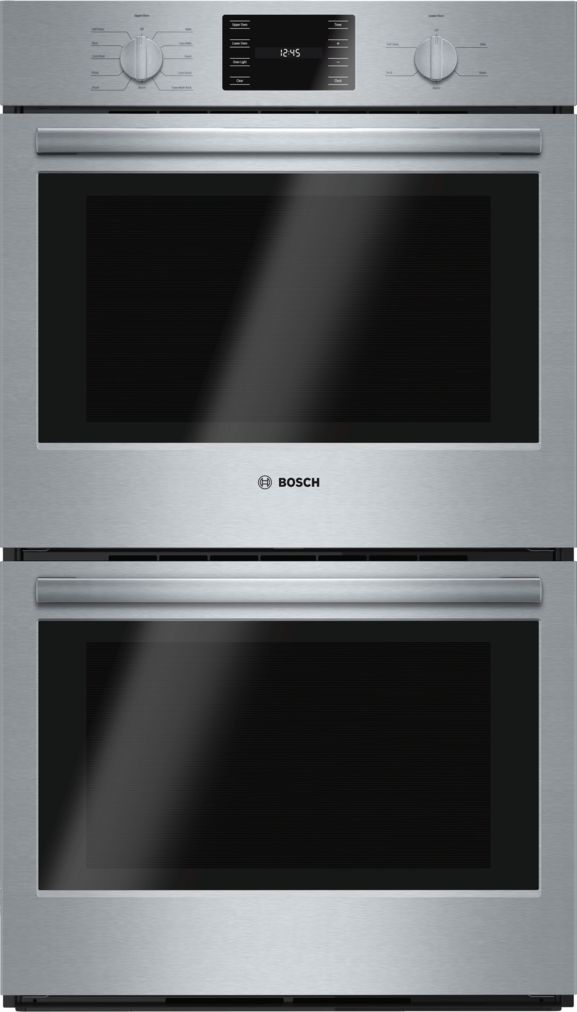 "Bosch 30"" Double Wall Oven, HBL5651UC, Stainless Steel"