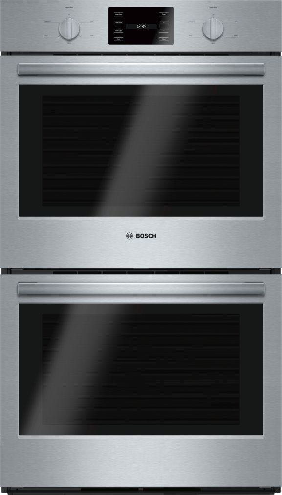 "Bosch 30"" Double Wall Oven, HBL5551UC, Stainless Steel"