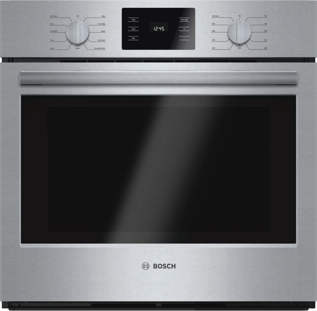 "Bosch 500 Series30"" Single Wall Oven, HBL5451UC, Stainless Steel"