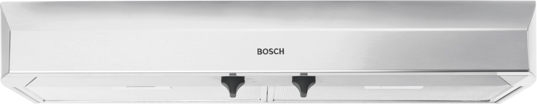 "Bosch 300 Series36"" Under-cabinet Hood, 280 CFM, DUH36152UC, Stainless Steel"