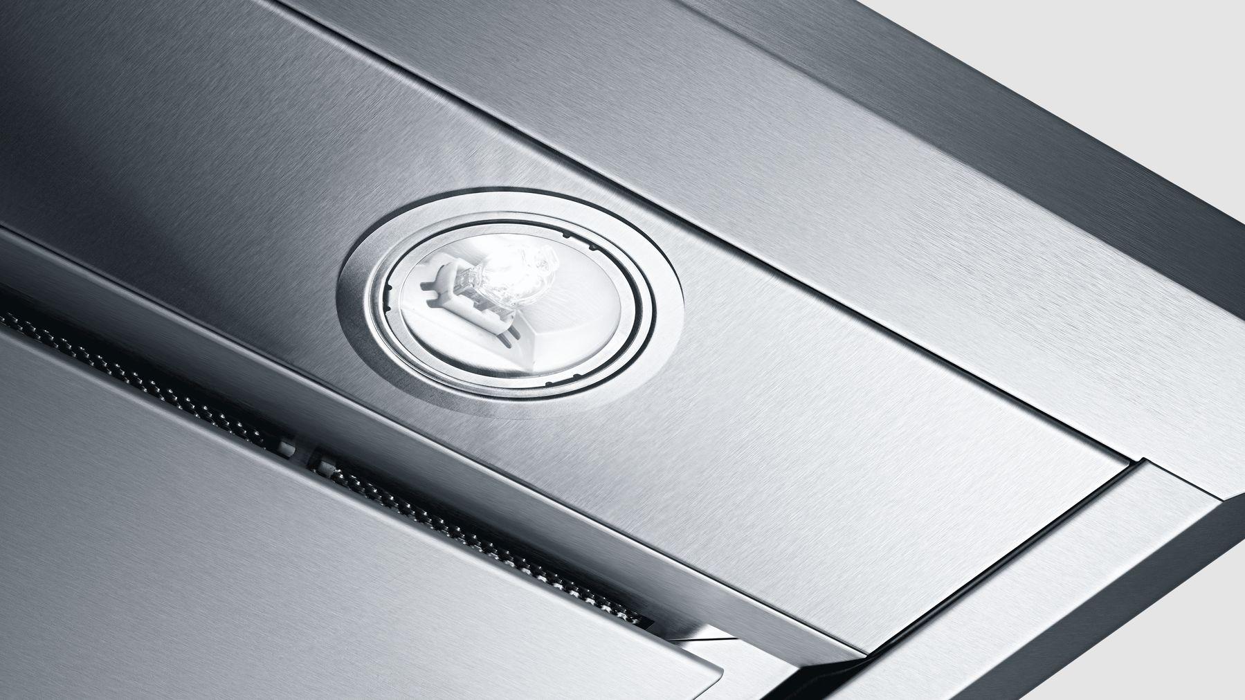 "Model: DHL755BUC | Bosch 500 Series30"" Custom Insert Hood, 400 CFM, DHL755BUC, Stainless Steel"