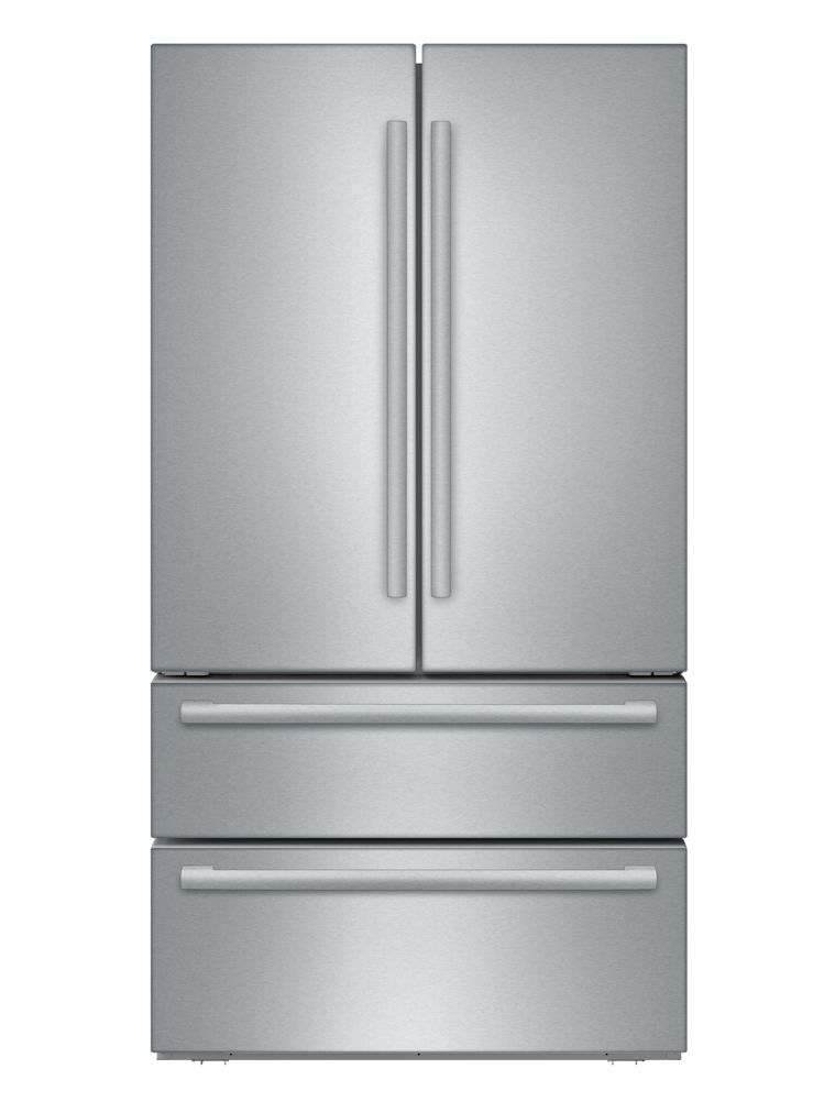 "Bosch 800 Series36"" Freestanding French Door Refrigerator, B21CL81SNS, Stainless Steel"