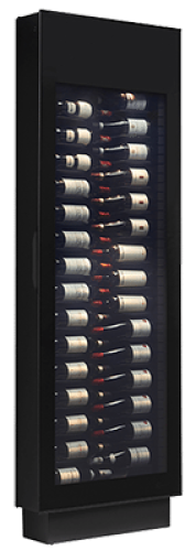 Silhouette 30 bottle wine Display and Storage Cabinet