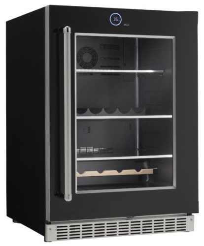 Danby Silhouette Reserve all refrigerator beverage center. Left Hinge Door