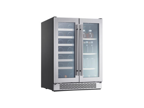 Dual Zone French Door Wine & Beverage Cooler
