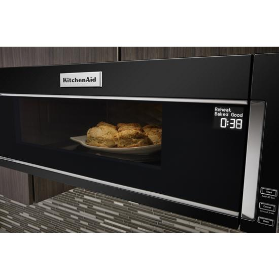 Kitchenaid Kmls311hbl 1000 Watt Low Profile Microwave Hood