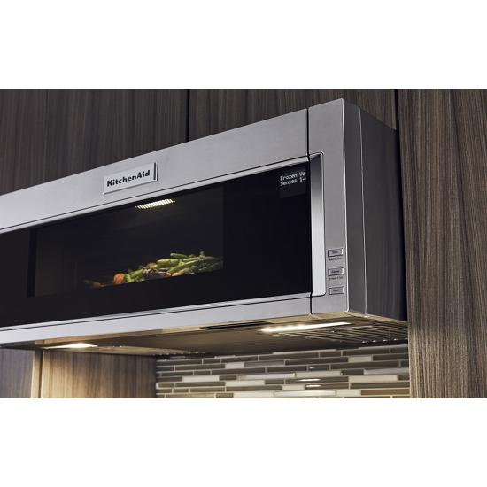Kitchenaid Kmls311hss 1000 Watt Low Profile Microwave Hood