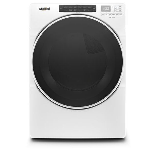 7.4 cu.ft Front Load Electric Dryer with Intiutitive Touch Controls, Wrinkle Shield™ Plus Option with Steam