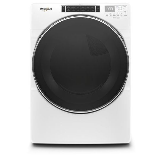 7.4 cu.ft Front Load Electric Dryer with Intiutitive Touch Controls, Steam Refresh Cycle