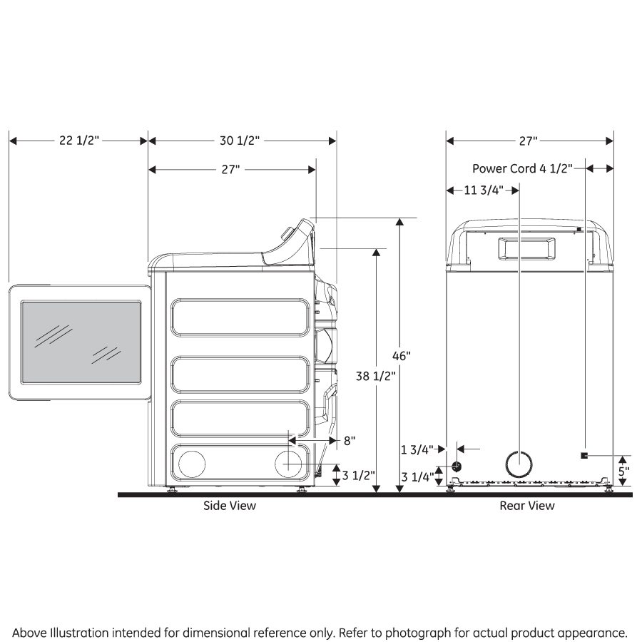 Ge Gtd65ebsjws 74 Cu Ft Capacity Aluminized Alloy Drum Maytag Washer Parts Diagram Group Picture Image By Tag Electric Dryer With He Sensor