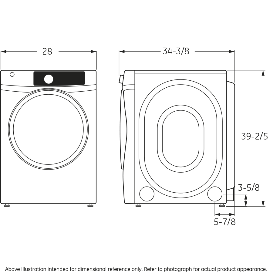 Ge Gfd48gsskww 83 Cu Ft Capacity Front Load Gas Energy Maytag Washer Parts Diagram Group Picture Image By Tag Star Dryer With