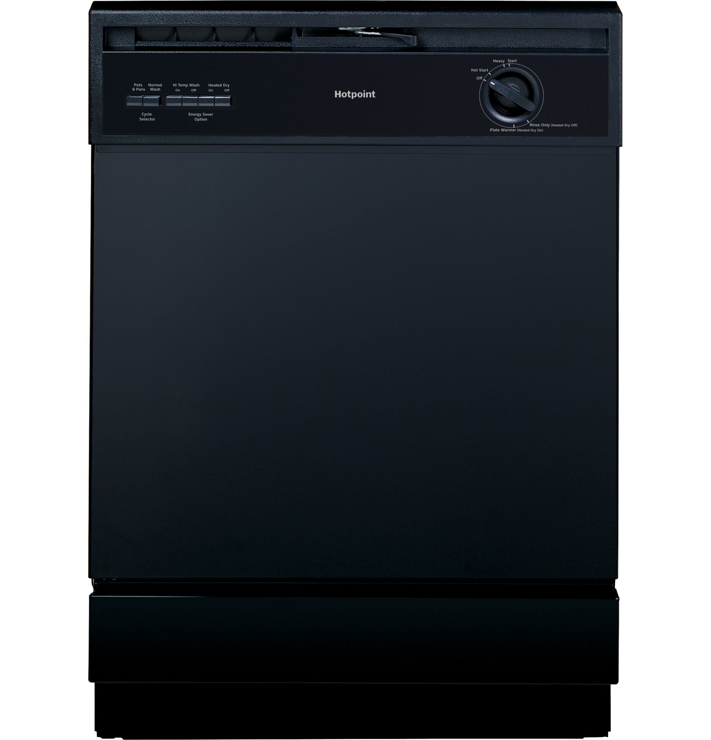 Model: HDA3600KBB | Hotpoint Hotpoint® Built-In Dishwasher