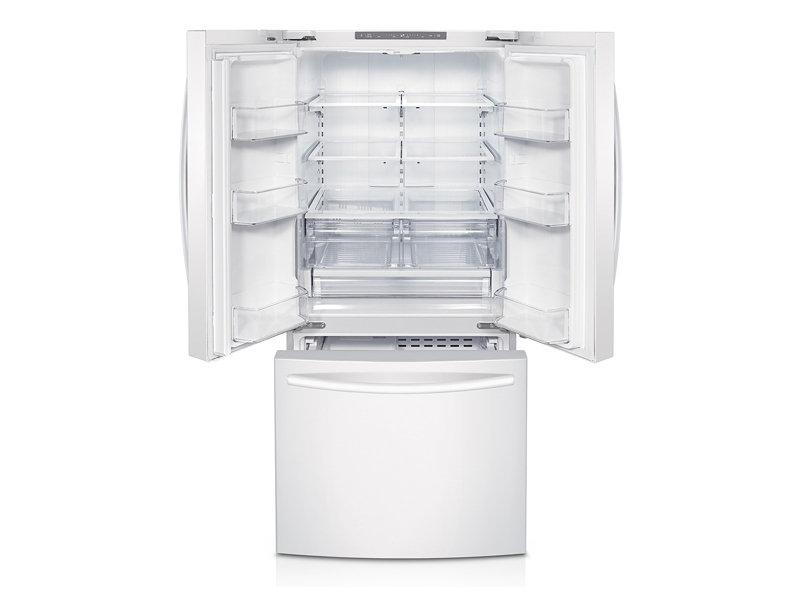 Samsung Rf220nctaww 22 Cu Ft French Door Refrigerator
