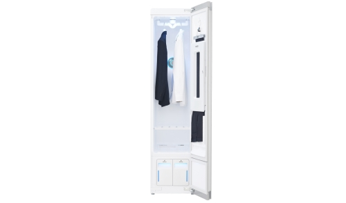 Model: S3RFBN | Styler - Refresh Any Garments in Minutes with Smart wi-fi Enabled Steam Clothing Care System