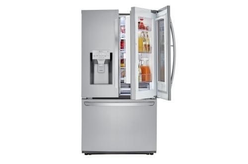 Model: LFXS26596S | LG 26 cu. ft. Smart wi-fi Enabled InstaView™ Door-in-Door® Refrigerator