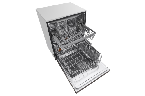 Model: LDF5678BD | LG Front Control Smart wi-fi Enabled Dishwasher with QuadWash™