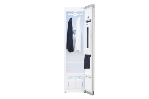 Model: S3WFBN | Styler - Refresh Any Garments in Minutes with Smart wi-fi Enabled Steam Clothing Care System