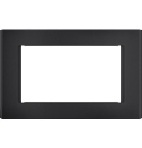 "Cafe Optional 27"" Built-In Trim Kit- Matte Black"