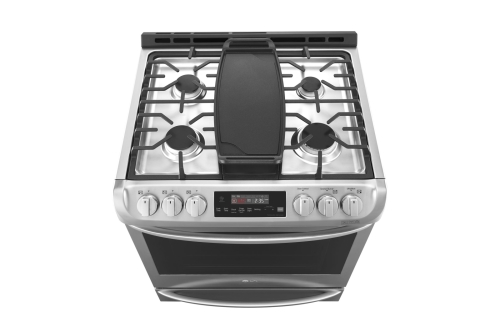 Model: LSG4515ST | LG 6.3 cu. ft. Smart wi-fi Enabled Gas Single Oven Slide-In Range with ProBake Convection®