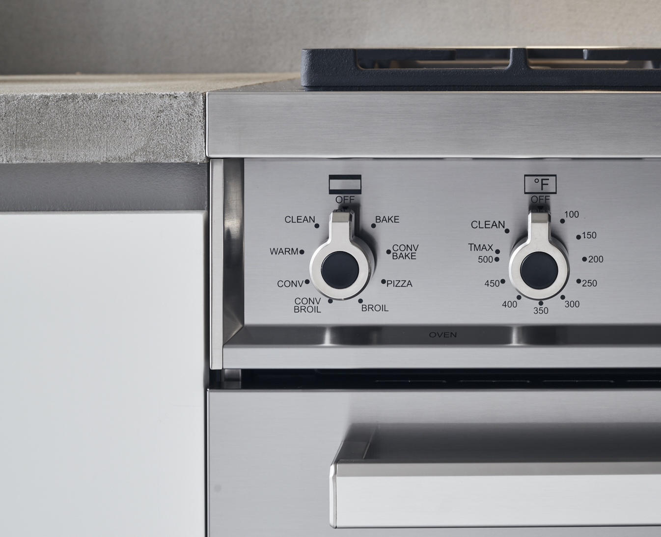 "Model: PROF486GDFSART | Bertazzoni 48"" Professional Series range - Electric self clean oven - 6 brass burners + griddle"