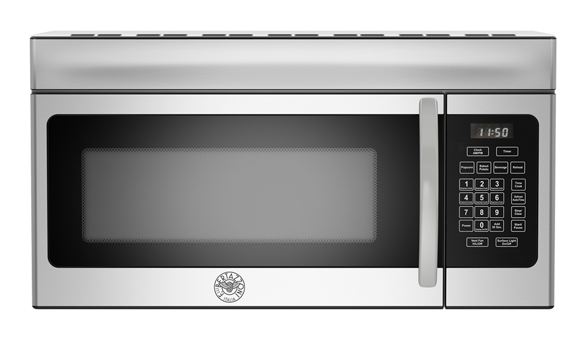 "Bertazzoni 30"" Over the Range Convection Microwave Hood"