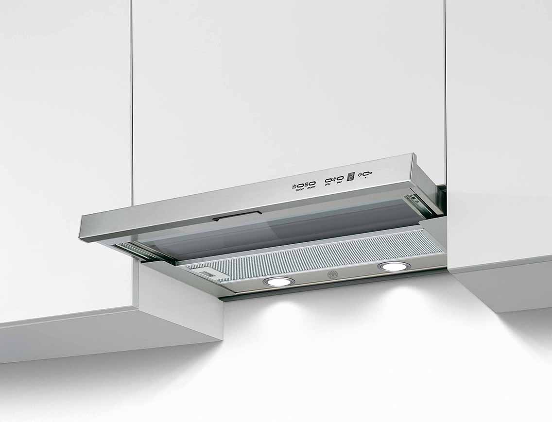 "Bertazzoni 24"" Telescopic extension hood - 1 motor - 300 CFM"