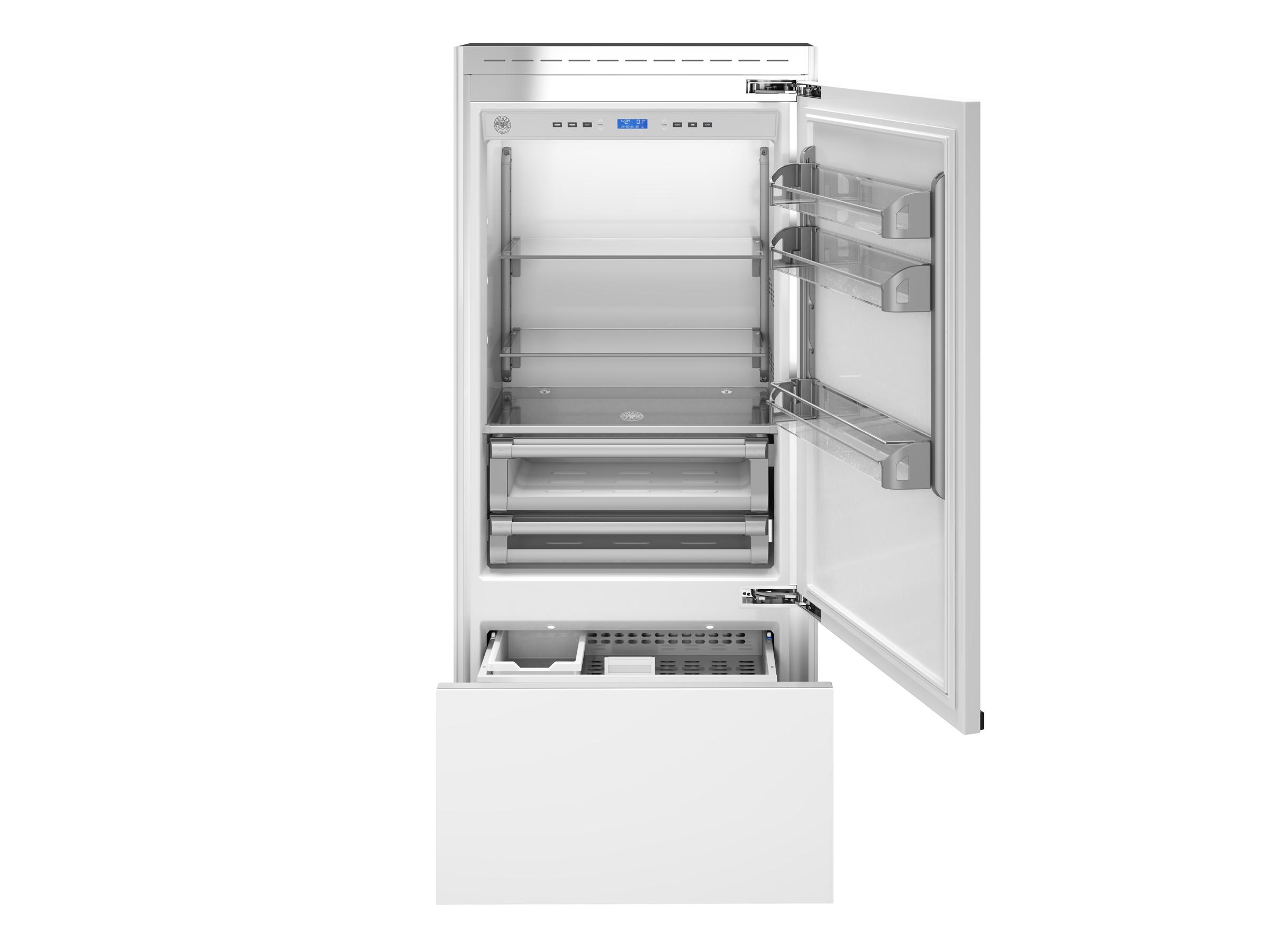 "Model: REF36PRR   Bertazzoni 36"" Built-in refrigerator - Panel ready - Right swing door"