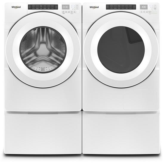 4.3 cu.ft Closet Depth Front Load Washer with Single Dose Dispenser