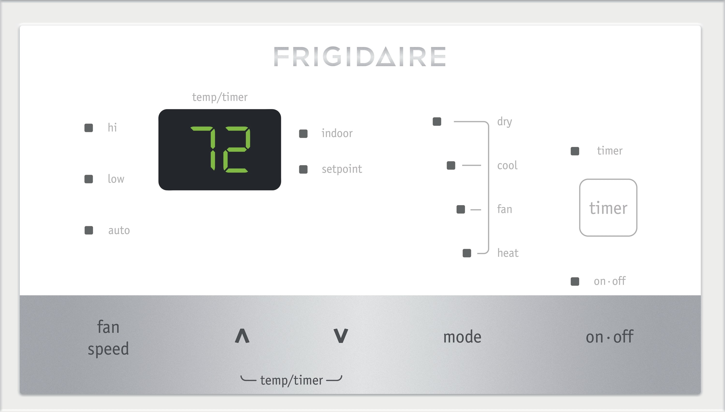 Frigidaire Ffrp152lt4 Ptac Unit With Electric Heat 15000 Btu Wiring Diagram 208 230v Corrosion Guard And Dry Mode