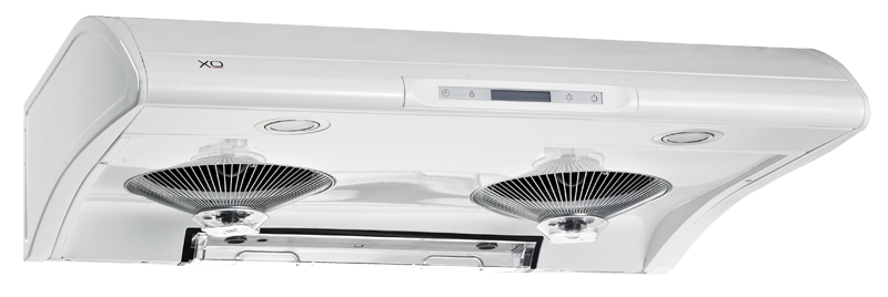 "XO Ventilation 550 CFM 36"" Filterless Under Cabinet Range Hood White"