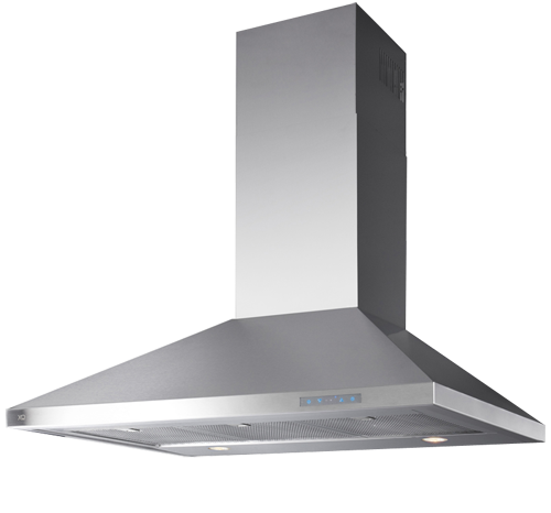 "XO Appliances 700 CFM 42"" Italian Made Wall Mount Chimney Range Hood Stainless"