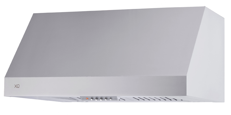 "Model: XOT1848KS | XO Appliances 1000 CFM 48"" Wall Mount Italian Made Pro Hood Stainless"