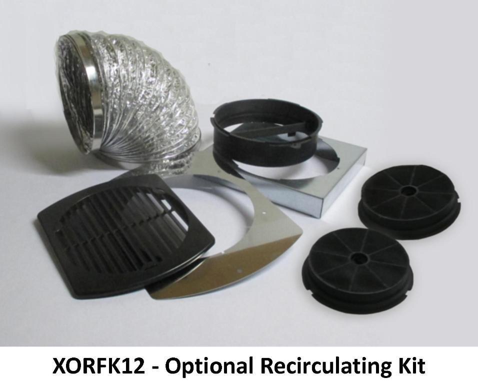XO Appliances Recirculation Kit Fits XOC
