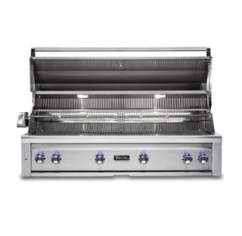 Viking 54: BUILT-IN GRILL W/PRO SEAR BURNER & ROTISSERIE - Natural Gas