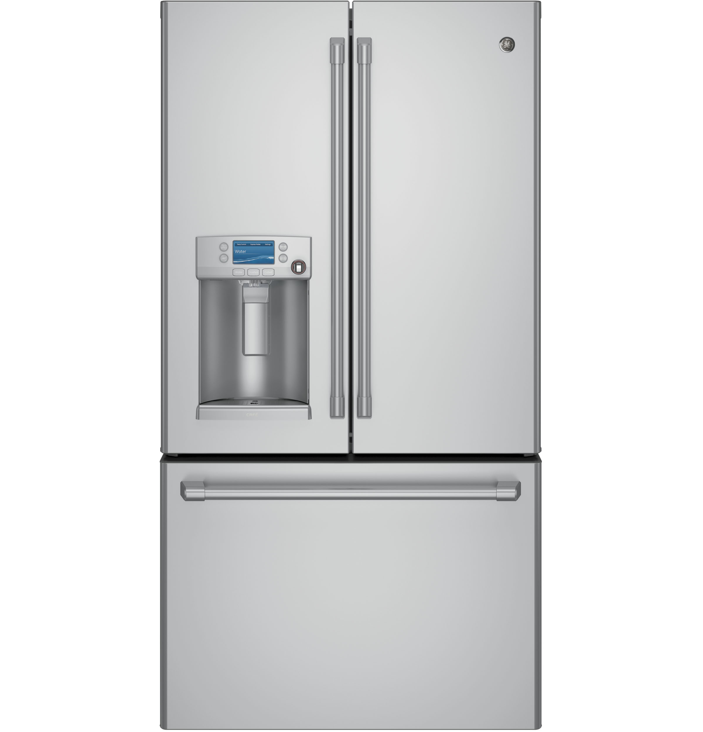 GE Café™ Series ENERGY STAR® 22.2 Cu. Ft. Counter-Depth French-Door Refrigerator with Hot Water Dispenser